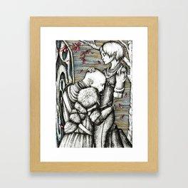 Apology Framed Art Print