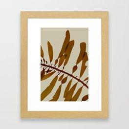 light kelp Framed Art Print