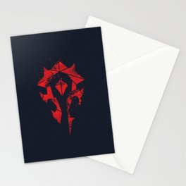 For the Horde Stationery Cards