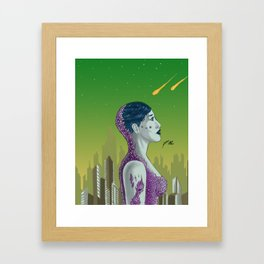 Reflecting Framed Art Print