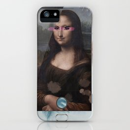 Mona Lisa phone iPhone Case