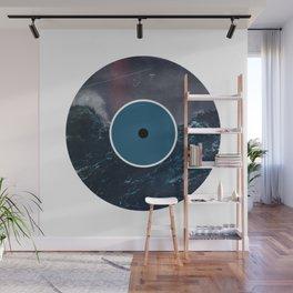 Vinyl Record Art & Design | Stormy Ocean Wall Mural