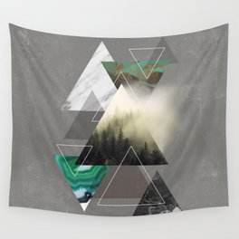 Triangles Symphony Wall Tapestry