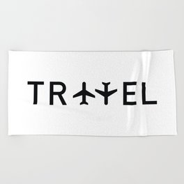Travel and enjoy Beach Towel