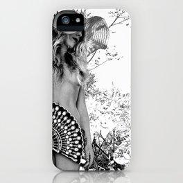 Fine Art Implied Nude iPhone Case