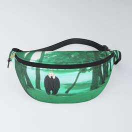 Time Rabbit and Pine Fanny Pack