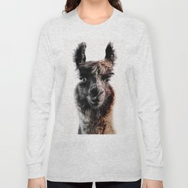 FLUFFY LAMA Long Sleeve T-shirt
