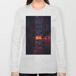 Glowing Alleyway Long Sleeve T-shirt
