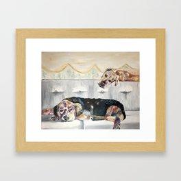 puppiez Framed Art Print