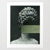rothko Art Prints featuring Frau Rothko by Marko Köppe