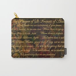 The Prayer of St Francis of Assisi Carry-All Pouch