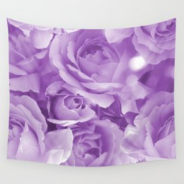 Violet Rose Bouquet For You - Valentine's Day #decor #society6 #homedecor Wall Tapestry