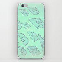 boats iPhone & iPod Skins featuring 'Boats' by Mr and Mrs Quirynen