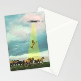 They too love horses Stationery Cards