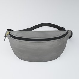 Burst of Color Pantone Pewter Abstract Watercolor Blend Fanny Pack
