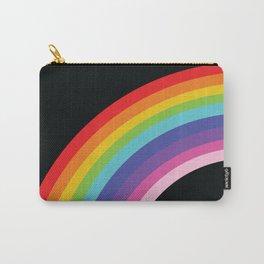 Circular Rainbow Carry-All Pouch
