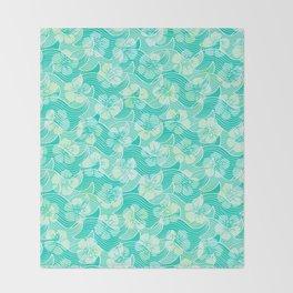Mermaid Pattern 02 Throw Blanket