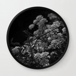 Edelweiss by Moonlight Wall Clock