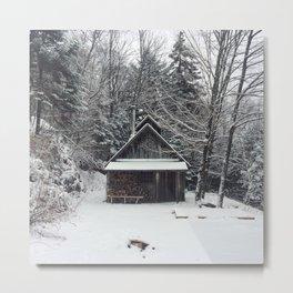 Ma cabane au Canada Metal Print