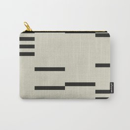 BLACK STRIPES Carry-All Pouch