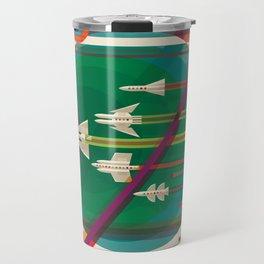 NASA Retro Space Travel Poster #5 Travel Mug