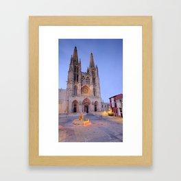 Burgos cathedral. Framed Art Print