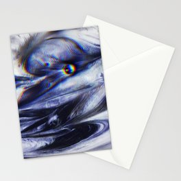 Liquid Obsidian Stationery Cards