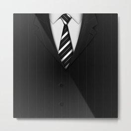 Exclusive Suits Metal Print