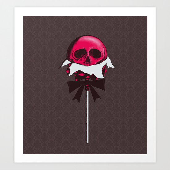 Sweet Death Art Print