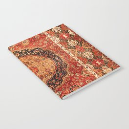Seley 16th Century Antique Persian Carpet Print Notebook