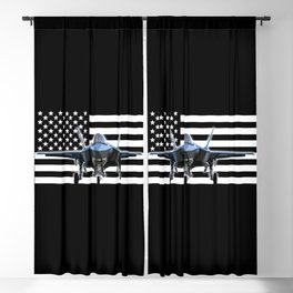 F-35 (Black Flag) Blackout Curtain