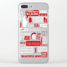 Movie Endings Revelation Clear iPhone Case