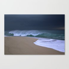 The perfect storm. Canvas Print