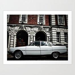 Rover P6 Art Print