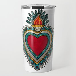 Mexican Heart Travel Mug