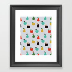 Apples + Pears Framed Art Print