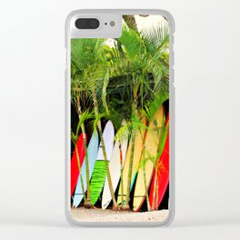 North Shore Surf '14 Clear iPhone Case