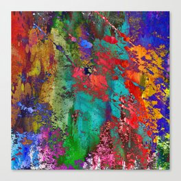 Abstract I<>X Canvas Print