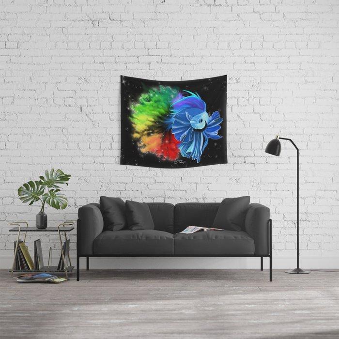 Stellar Betta Wall Tapestry