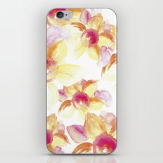 Sunflowers Watercolor iPhone & iPod Skin