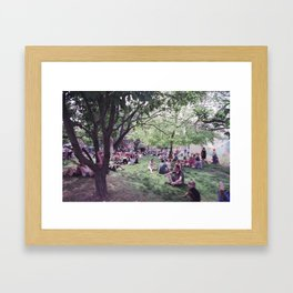 136//365 [v2] Framed Art Print