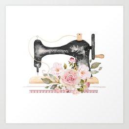 Sew Crafty Art Print