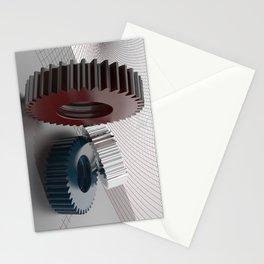 Precision mechanics Stationery Cards