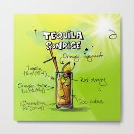 TequilaSunrise_002_by_JAMFoto Metal Print