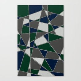 colors and shapes Canvas Print