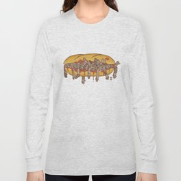 Human Sandwich Long Sleeve T-shirt