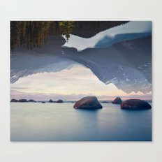 Ocean and Forest Canvas Print