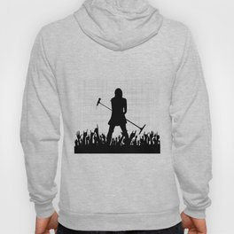 Girl With Microphone Hoody