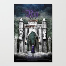 The Rift Official Movie Poster Canvas Print