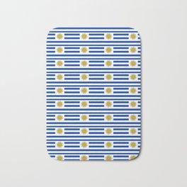 flag of Uruguay-Uruguyan,montevideo,spanish,america,latine,Salto,south america,paysandu,costa,sun Bath Mat